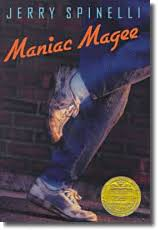 maniac magee literature guide for grades teachervision this newbery medal winner tells the mythical tale of a legendary hero 12 year old jeffrey magee known as maniac magee an orphan no place to call