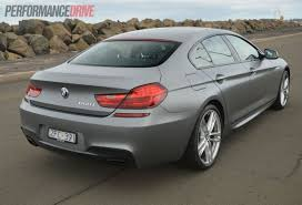 Sport Series 2013 bmw 650i gran coupe : 2013 BMW 650i Gran Coupe Frozen Grey rear |