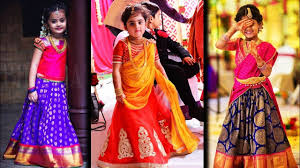 Indian Baby Girl Lehenga Designs Cute Baby Girl Lehenga Kids Party Wear Traditional Dress