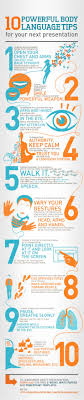best ideas about body language and me 10 powerful body language tips for your next presentation infographic infografiacutea