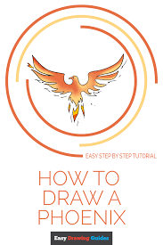 How To Draw A Phoenix Really Easy Drawing Tutorial
