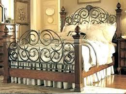 wrought iron bed king – fxmaximum.info