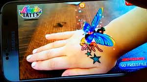 живые татуировки волшебные татуировки оживают прямо на руке фея котенок единорог Magic Tattos