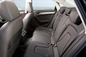 audi a4 interior 2012. audi a4 rear seats interior 2012