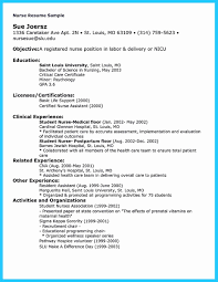 Registered Nurse Resume Examples Registered Nurse Resume Samples