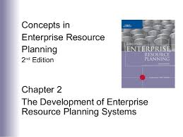 Chapter 2 The Development Of Enterprise Resource Planning