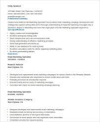 Sample Marketing Skills Resume 8 Examples In Word Pdf