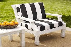 outdoor chair cushions clearance white