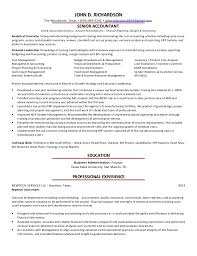 Fixed Assets Manager Sample Resume