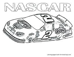 Race Car Coloring Pages Free Betterfor