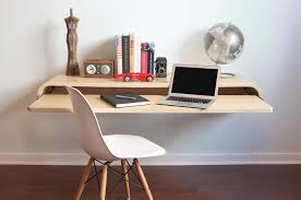 office floating desk small. 16 Wall Desk Ideas That Are Great For Small Spaces CONTEMPORIST Within Floating Decor 12 Office T