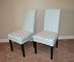 beautiful concept kitchen chair covers about ana white parson slip cover with chevron fabric so easy
