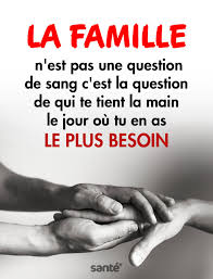 La Famille Nest Pas Une Question De Sang Cest La Question De Qui