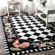hand hooked area rugs copper grove hand hooked rooster checd wool area rug