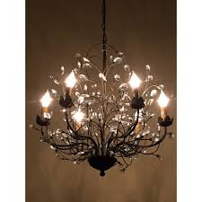 antique bronze chandelier the aquaria intended for new residence antique bronze 6 light crystal and iron chandelier plan