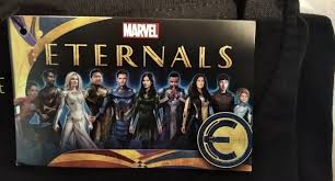 The marvel film, from oscar winner chloé zhao, is due out nov. Photo New Eternals Promo Art Gives First Look At New Costumes Wdw News Today