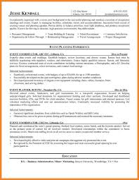Corporate Event Planner Resume Sample Event Planner Resume Fungramco 23