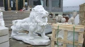 small outdoor lion statues contemporary statue large