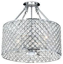 crystal semi flush mount chandelier crystal flush ceiling light crystal semi flush ceiling light pertaining to contemporary flush mount crystal classic