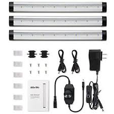 LED Under Cabinet Lighting Dimmable Warm White 12W 900 Lumens 3 ...