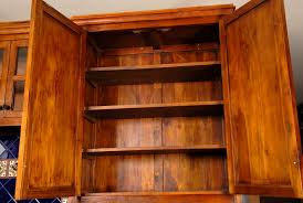 Custom Teak Kitchen Cabinets
