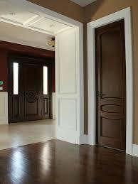 Wood Interior Doors With White Trim Centralazdining
