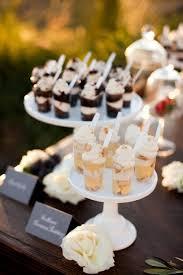 wedding desserts. Wedding Dessert Ideas that are not cake wedding dessert table