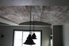 ll bar tin ceiling detail