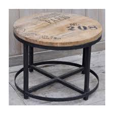 sa hardwood round coffee table mango
