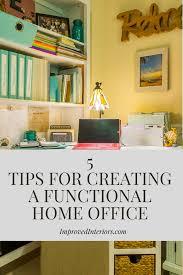 creating a home office. Creating A Home Office