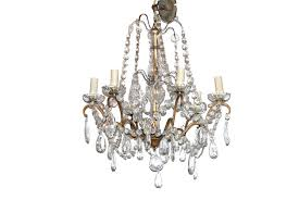 vintage chandelier crystal prisms le barns french antique crystal chandelier just one from our collection of many visit our website to see more vintage