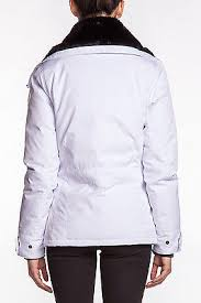 hot sale Ladies Canada Goose Thompson Duck Down Jacket White Coat Insulated