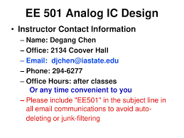 Cmos Analog Circuit Design Allen Holberg 3rd Edition Pdf Download Ee 501 Analog Ic Design Instructor Contact Information Name