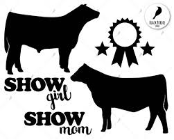 show heifer silhouette. Simple Show Image 0 On Show Heifer Silhouette E