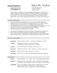 Film Resume Format 9 Asp Net Resume Format Vosvetenet Video