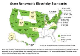 renewable electricity standards deliver the goods union of  state res map full size