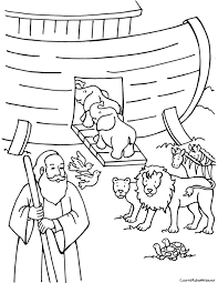 Small Picture free noahs ark coloring pages Noahs Ark Coloring Pages noah