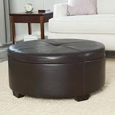 ottomans large round storage coffee table storage designs large storage ottoman round large size of round storage coffee table storage designs throughout