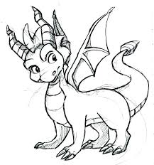 Coloring Pages Skylanders Coloring Pages Spyro Impressive Idea The