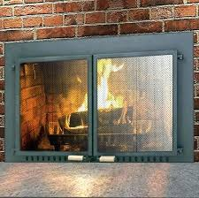 fresh fireplace doors with blower wood burning beneficial