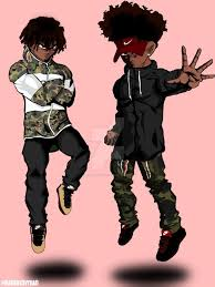 Dope Cartoon Couple Wallpapers on ...