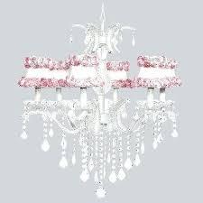 pink crystal chandelier 1 of 2 kids room white pink crystal chandelier light fixture nursery bedroom