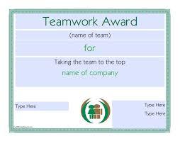 Teamwork Certificate Templates 50 Amazing Award Certificate Templates Template Lab