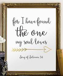 Bible Quotes For Wedding Extraordinary Wedding Bible Verse Art Print Scripture Wedding Decor Verses