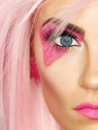 this jem and the holograms makeup tutorial is so cool makeup tutorials80s