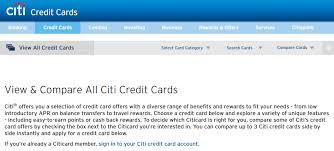 citi credit card change rules