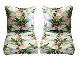 Stylish Nautical Outdoor Seat Cushions Coral Coast Nautical 40 X