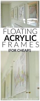 Floating acrylic wall frame 19x16 Floating Floating Acrylic Wall Frame These Are The Perfect Way To Get The Look Of Chic Floating Nukezone Floating Acrylic Wall Frame Promesasfutbolclub