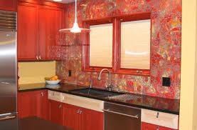 Kitchen Backsplash Red Kitchen Backsplash White And Grey Marble Tile Backsplash