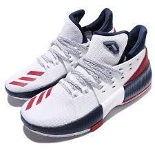 adidas basketball shoes damian lillard. adidas dame 3 j damian lillard navy red white kids basketball shoes bw1101
